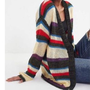Urban Outfitters Eternal Sunshine striped Cardigan
